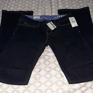 Nwt Gap 1969 jeans 0 regular 25Wx31L sexy boot